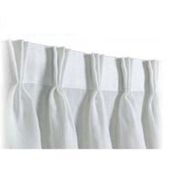 Cortinas de pliegues idea de la imagen de inicio for Confeccion cortinas