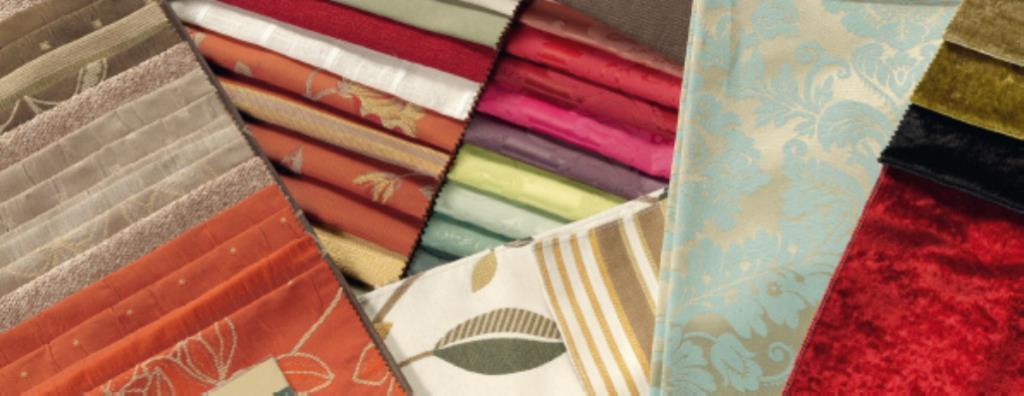 Muestrario de telas de tapicería y cortinas en León Comersan