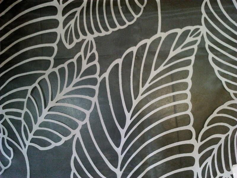 Telas para visillos con dibujos calados blancas 2 cortinas y estores le n - Tela visillos para cortinas ...