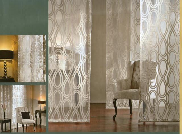 Visillos riccotta comersan organza y batista perforada - Visillos para dormitorios ...