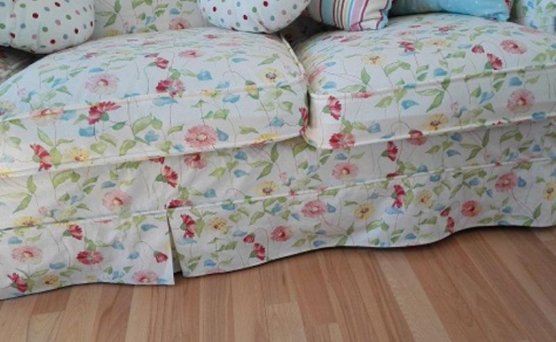 Fundas para sof flores a medida cortinas y estores le n - Fundas de sofas a medida ...